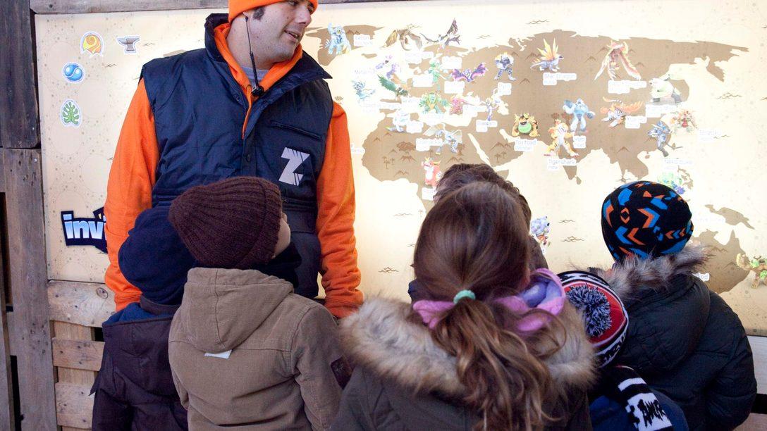 3.750 niños se unen a  'La Alianza de Cazadores de Invizimals' en Madrid