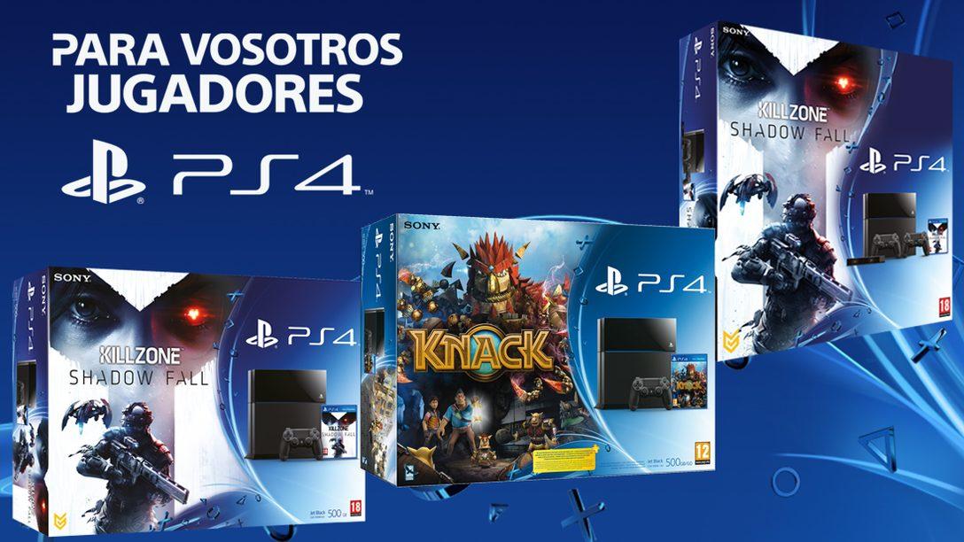 Llegan más PS4 y packs con juegos a las tiendas los días 10 y 11 de diciembre