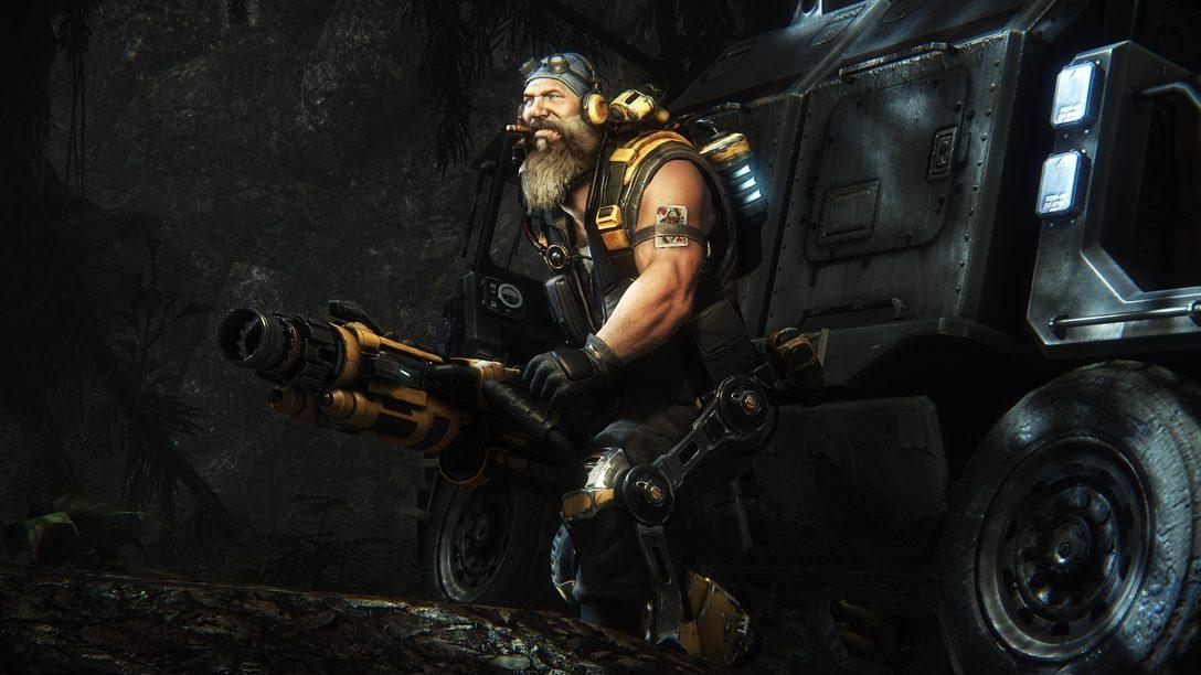 Evolve en PS4 – La evolución de los shooters