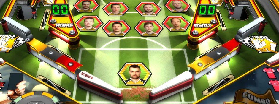 Zen Pinball 2: Super League Football llega mañana para PS4, PS3 y PS Vita