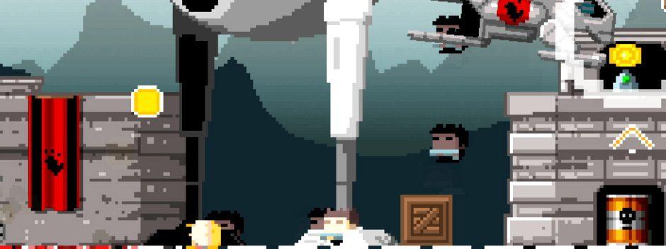 Descubre cómo ha dado el salto a PS Vita el videojuego de acción retro Gunslugs