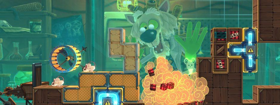El juego de puzles de queso MouseCraft, muy pronto en PS Vita