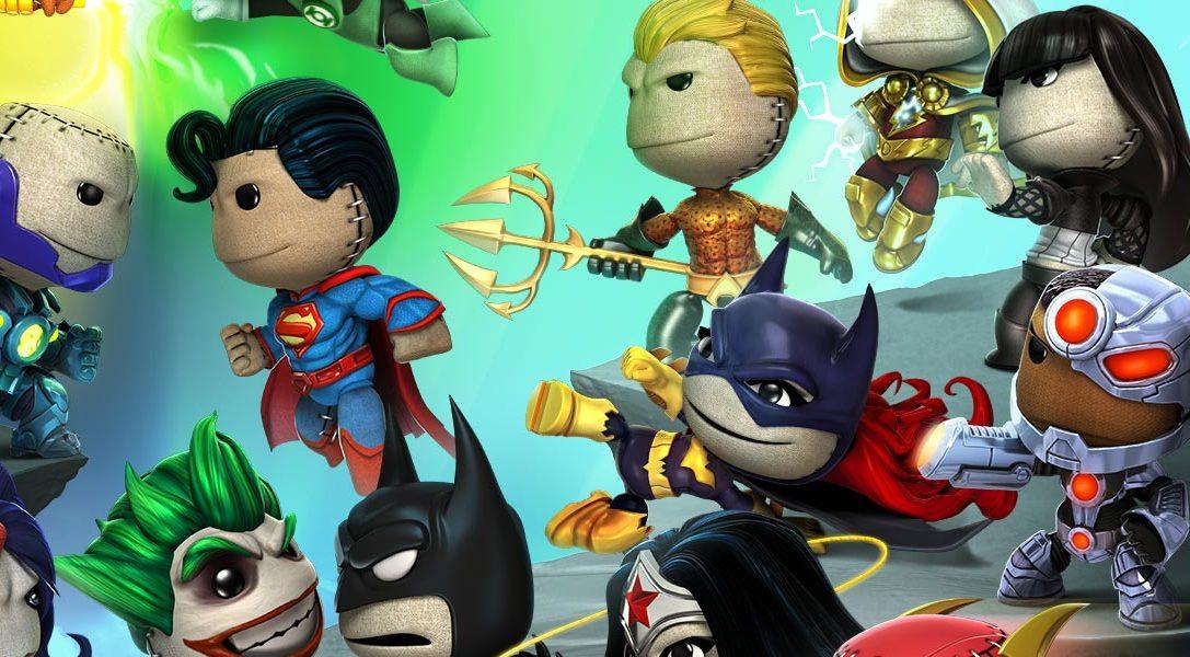 LittleBigPlanet: El pack 5 de trajes de DC Comics llega esta semana