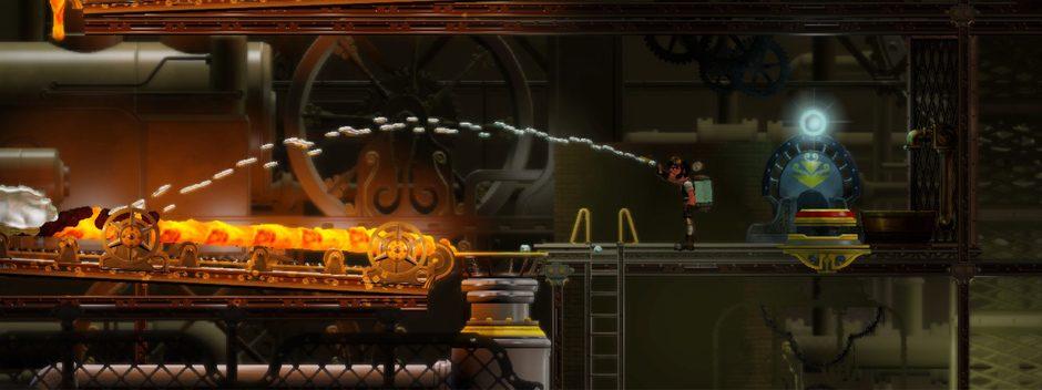 Vessel: el rompecabezas basado en físicas líquidas llega a PS3 este mes