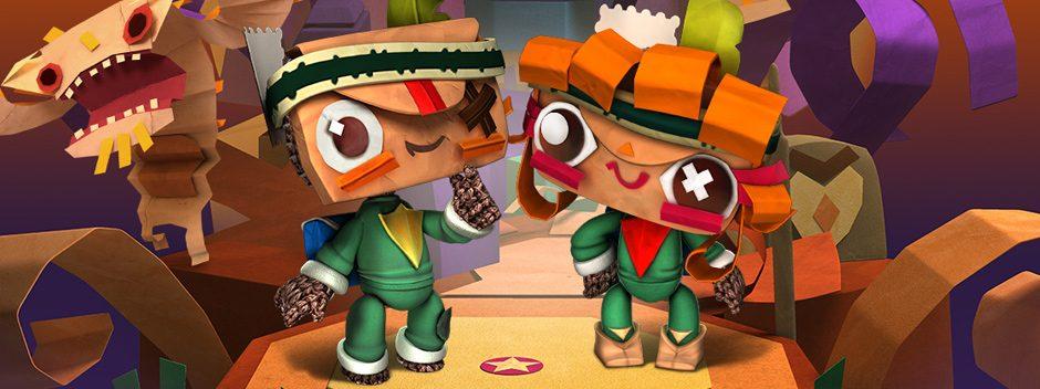 Novedades de LittleBigPlanet: Esta semana se desvela nuevo contenido descargable de Tearaway