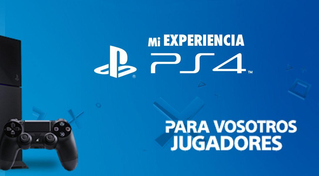 Comparte tu experiencia PS4 y gana juegos para seguir disfrutando