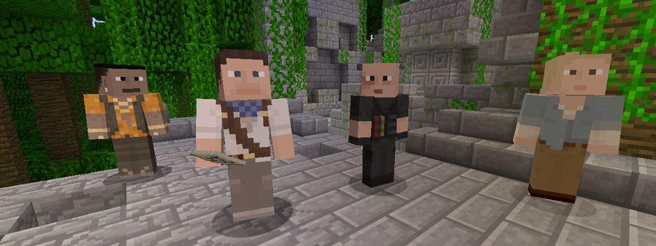 La nueva actualización de Minecraft para PS3 incorpora aspectos de Uncharted, Killzone y Sly