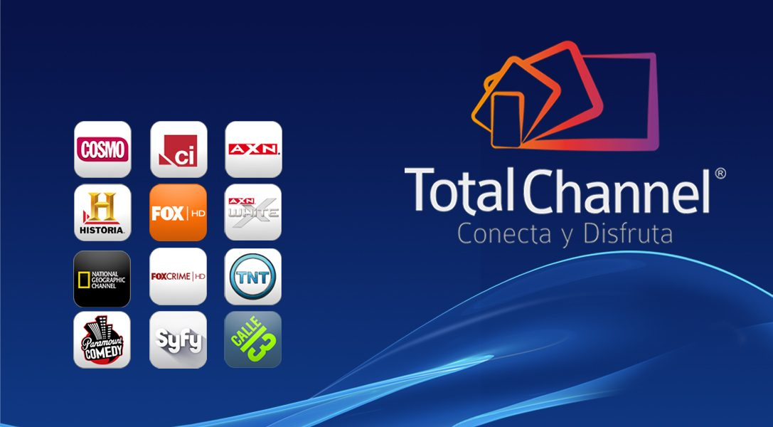 Eres el elegido: TotalChannel, conecta y disfruta