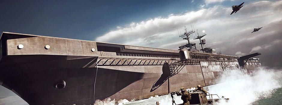 Battlefield 4 Naval Strike llega hoy