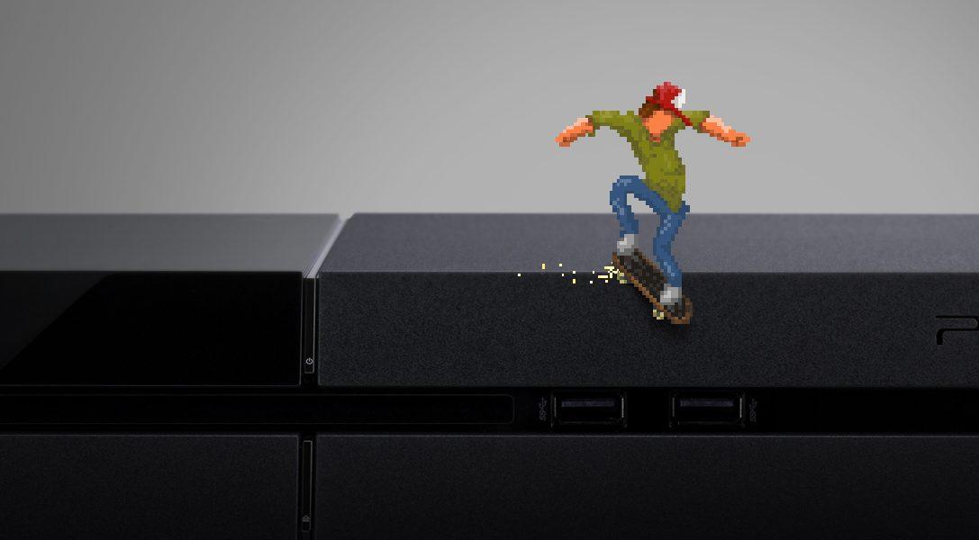 El aclamado 'skate 'em up' OlliOlli llegará para PS4 y PS3