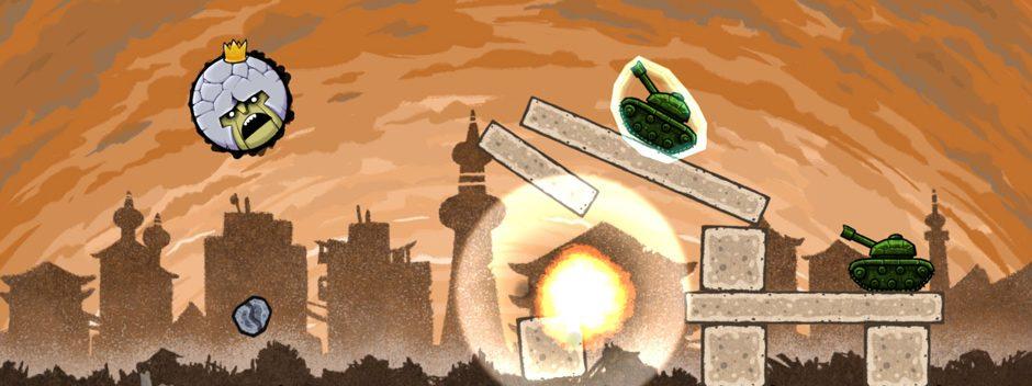 El juego de puzles basados en la física, King Oddball, llegará el próximo mes para conquistar PS4