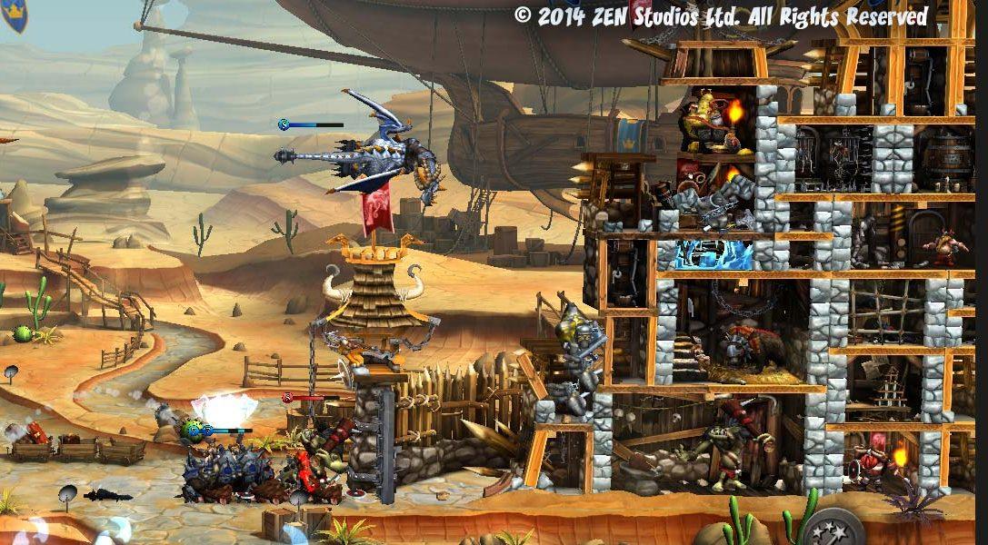 CastleStorm y KickBeat estarán en PlayStation 4