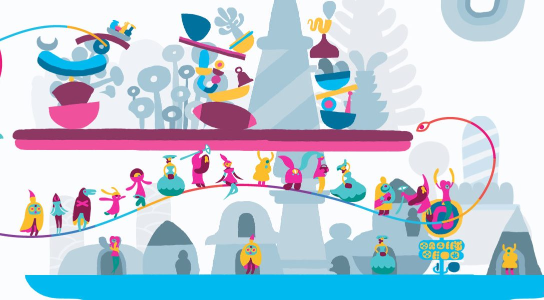 El nuevo tráiler de Hohokum desvela un fantástico nivel llamado Fun Fair