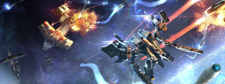 Strike Suit Zero en marcha hacia PS4 este mes