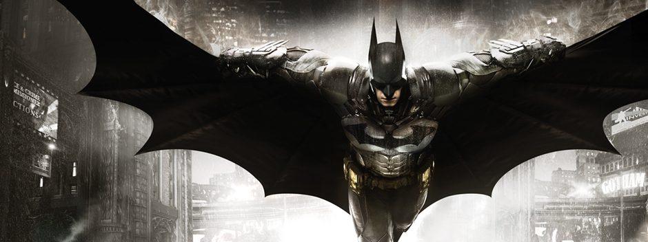 Batman: Arkham Knight llega a PS4 este año
