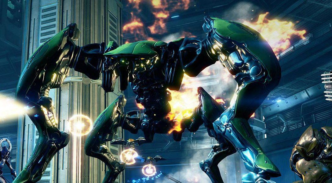 Warframe para PS4 – Nueva actualizacion, armas y mucho más.