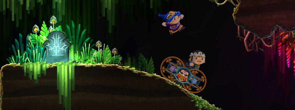 La aventura de plataformas cooperativa local Chariot llegará muy pronto a PS4