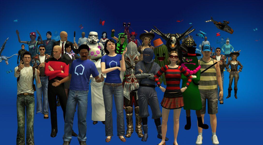 Actualización de PlayStation Home: ¡Choca esas cinco, tronco!