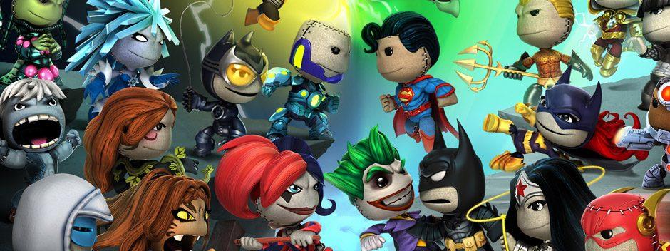 LittleBigPlanet PS Vita: ¡Llega esta semana el Pack de niveles exclusivos de DC Comics!