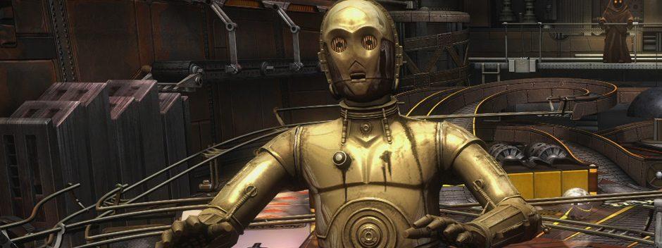 Próximamente en Star Wars Pinball, mesas de R2-D2 y C-3PO