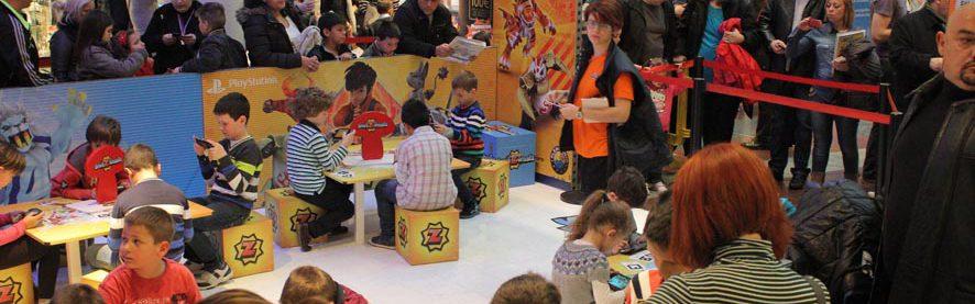Los Invizimals invaden el Zielo Shopping de Pozuelo