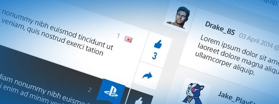 Sobre las funciones que se añadirán hoy a PlayStation Blog