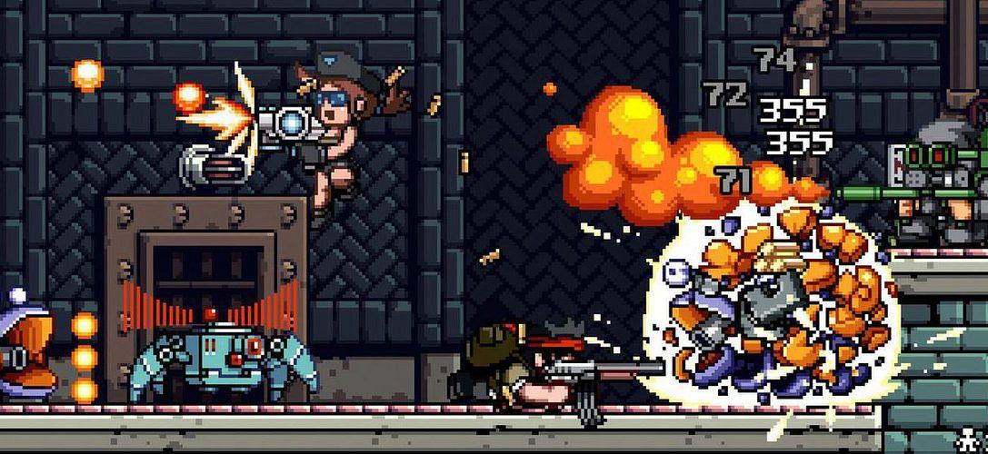 Mercenary Kings ya está en PS Plus para PS4