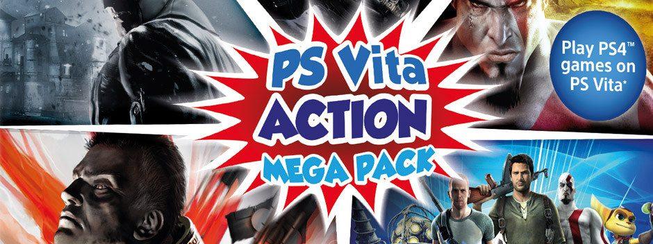 El PS Vita Action Mega Pack saldrá a la venta este verano