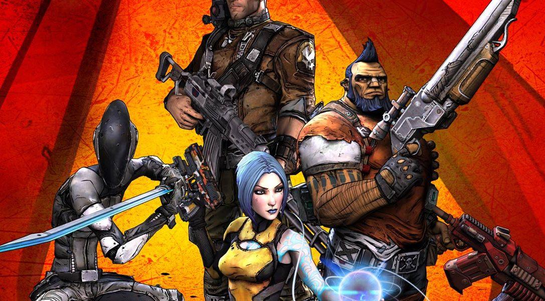 Ya está aquí Borderlands 2 para PS Vita – La destrucción te espera