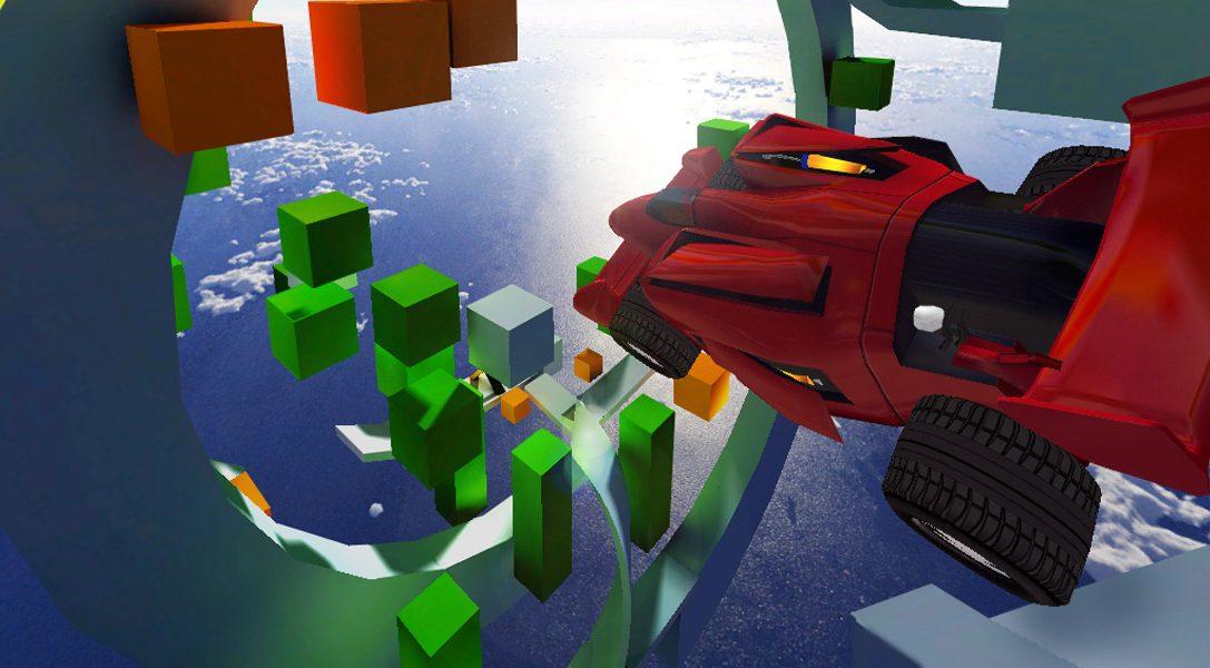 Jet Car Stunts llega a PS3, PS Vita en julio. Echa un vistazo al tráiler.