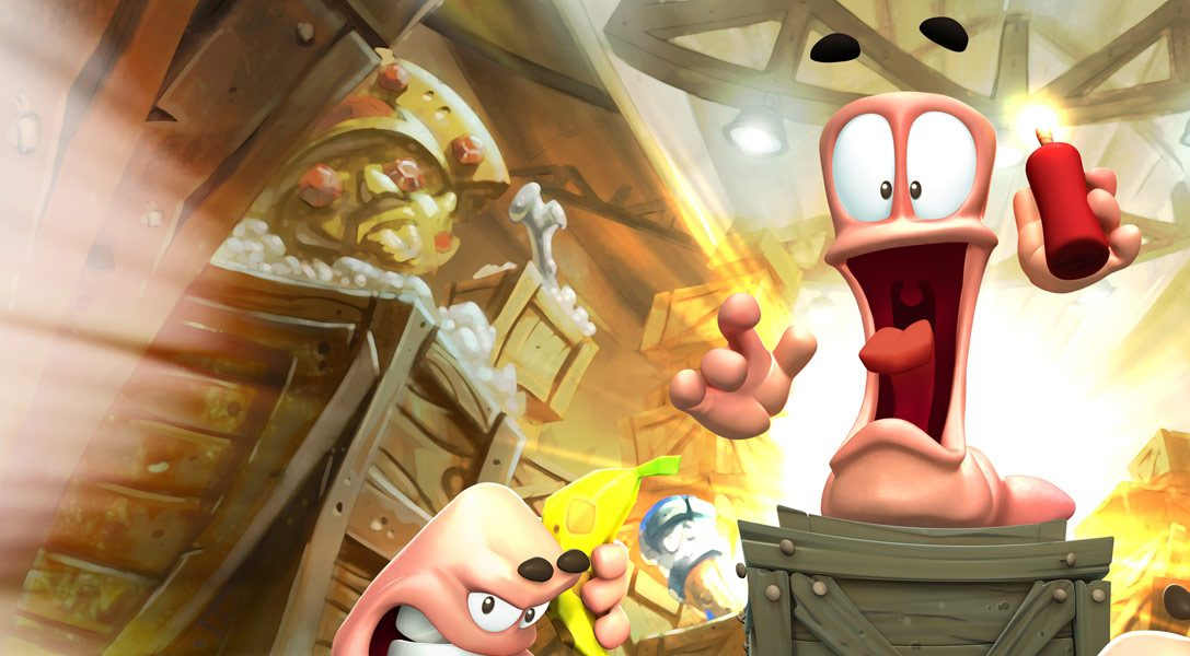 Worms Battlegrounds traslada este mes la batalla a PS4