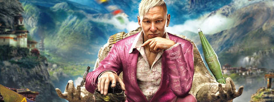 Far Cry 4 llega a PS4 y PS3 en noviembre