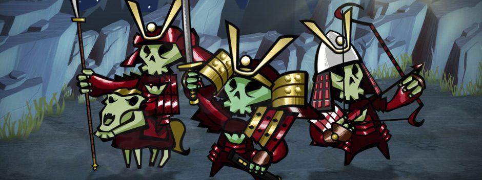 ¡Skulls of the Shogun: Bone-a-Fide Edition llega a PS4!