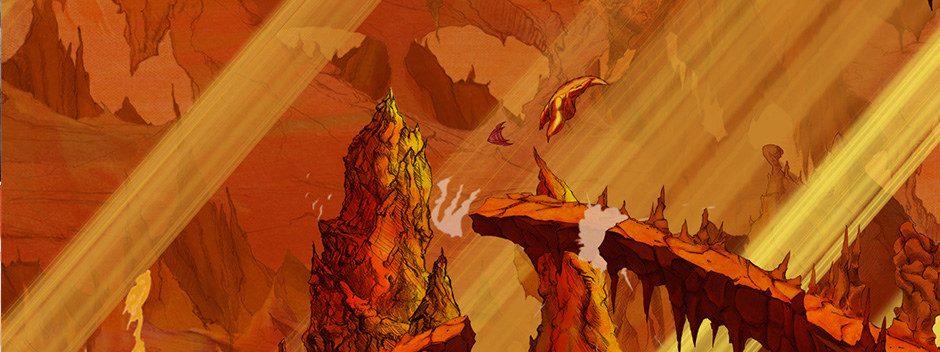 Aaru's Awakening, el juego de plataformas pintado a mano, pronto llegará a PS3 y PS4
