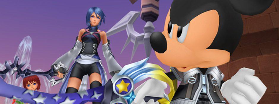 Nuevas pantallas de Kingdom Hearts HD 2.5 ReMIX