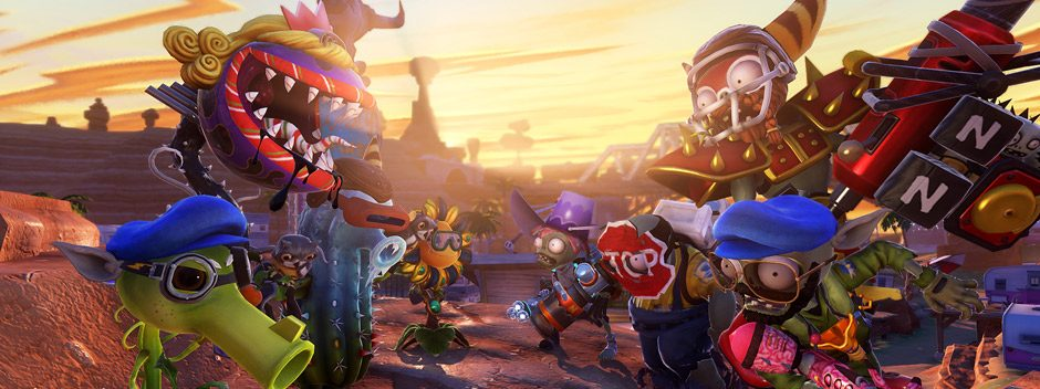 Plants vs. Zombies Garden Warfare llegará pronto a PS4