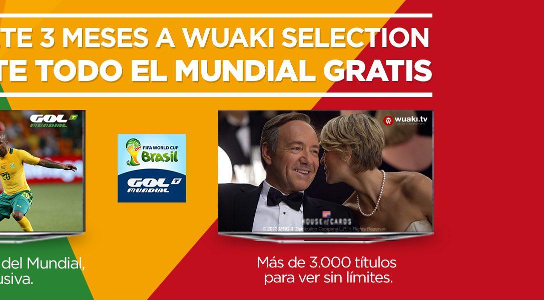 Llévate todo el MUNDIAL gratis con Wuaki.tv con tu PS4