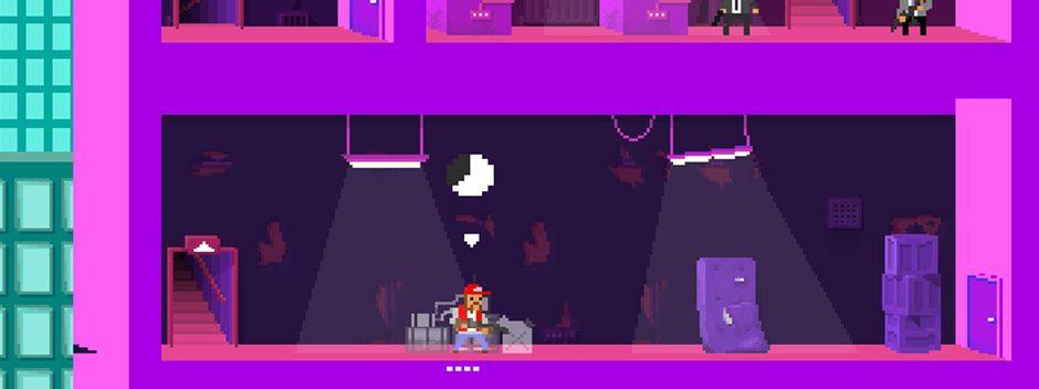 #E3MejorConPS4 – Not a Hero llegará a PS4 y PS Vita de mano de los creadores de OlliOlli