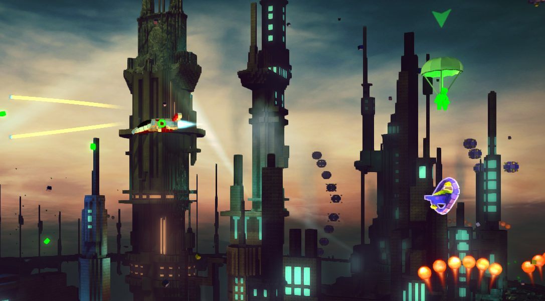 Resogun – El DLC Heroes añadirá nuevos modos de juego el mes que viene