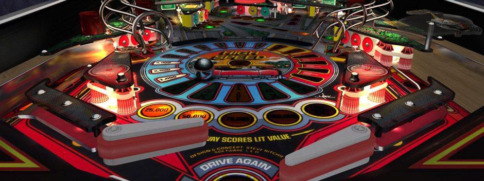 Nuevas mesas llegarán pronto a Pinball Arcade para PS4, PS3 y PS Vita