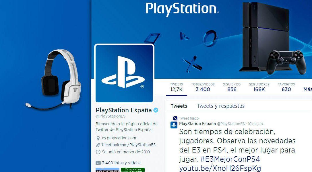 Sigue a PlayStation España en Twitter y gana un fabuloso premio