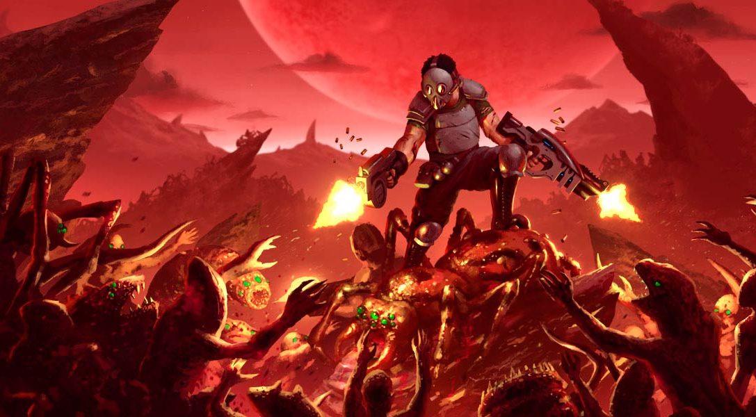 Crimsonland, el frenético juego de disparos vertical, llega este mes a PS4
