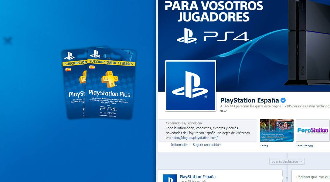 ¿Aún no eres fan de PlayStation en Facebook?