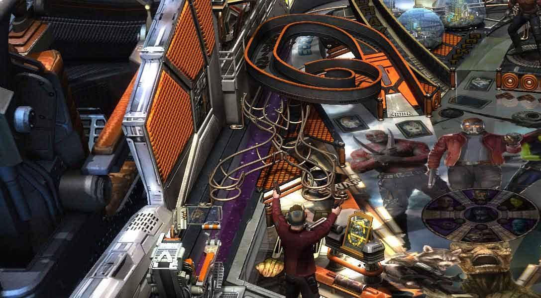Guardians of the Galaxy de Marvel llega la próxima semana a Zen Pinball 2