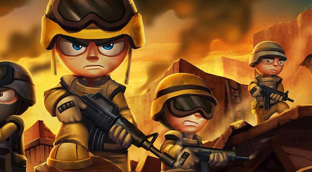Tiny Troopers Joint Ops desfilará el mes que viene en PS3, PS4 y PS Vita