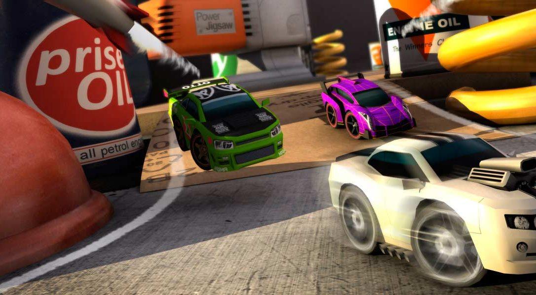 Table Top Racing arranca motores el mes que viene en PS Vita