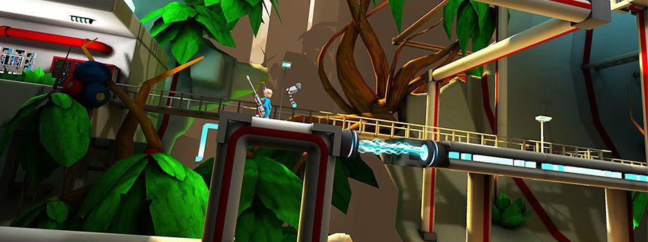 Nuevo tráiler de la aventura para PS Vita Kick & Fennick