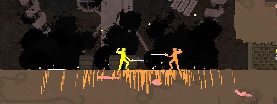 El juego de lucha de culto, Nidhogg, tendrá pronto una versión para PS Vita