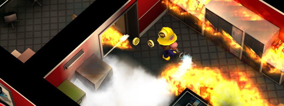 Primeras imágenes del juego para PS Vita Flame Over