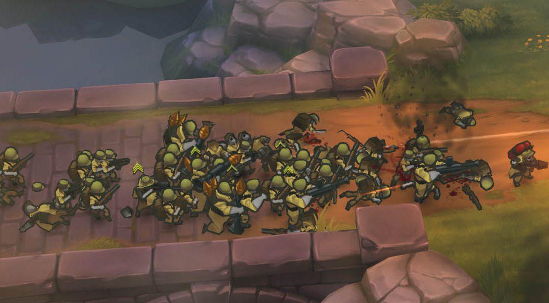Nuevo tráiler para PS3/PS4/PS Vita del juego de acción y estrategia GUNS UP!